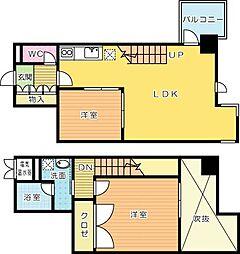 gala小倉 (ガーラコクラ)[2階]の間取り