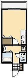 マンションニシヒロ[306号室]の間取り