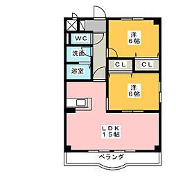 EMPORIUM[2階]の間取り