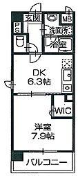 兵庫県姫路市西延末の賃貸マンションの間取り