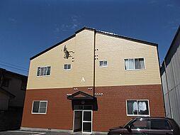 新潟県新潟市中央区蒲原町の賃貸アパートの外観