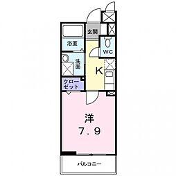 ネオ・グランツ高井田[4階]の間取り