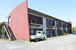千葉県大網白里市経田の賃貸アパートの外観