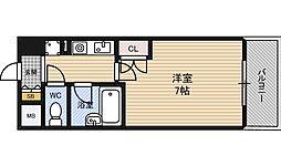 エスリード新大阪第8[7階]の間取り