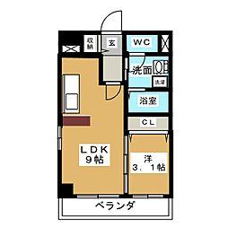 VIVRE YAMASHITA[2階]の間取り