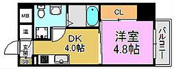 プログレスアペゼ[2階]の間取り