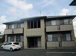 山口県山陽小野田市西高泊の賃貸アパートの外観