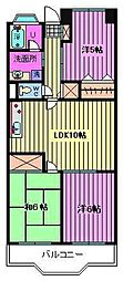 グランドカーサ武蔵野[3階]の間取り