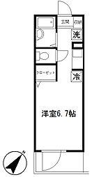 リンクス赤塚新町[1階]の間取り