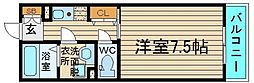 コート石津川[2階]の間取り