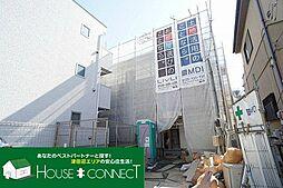 千葉県船橋市中野木2の賃貸アパートの外観