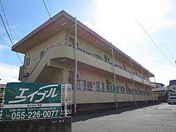 山梨県甲府市貢川本町の賃貸マンションの外観
