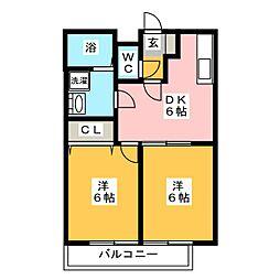 [テラスハウス] 福岡県福岡市東区香椎4丁目 の賃貸【/】の間取り