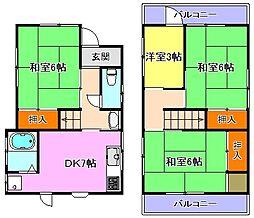 [一戸建] 兵庫県明石市藤が丘2丁目 の賃貸【/】の間取り