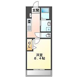 JR内房線 長浦駅 バス13分 笹上橋停下車 徒歩5分の賃貸アパート 1階1Kの間取り