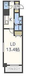 サムティレジデンスN15[9階]の間取り