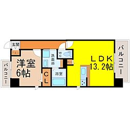 Lien de izumi(リヤンドイズミ)[10階]の間取り