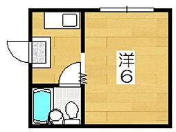 オオサキパレス[2階]の間取り
