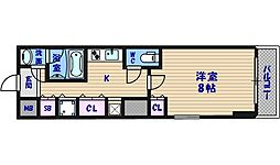 メゾンルージュ小橋[3階]の間取り