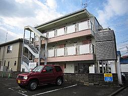 愛媛県松山市小坂4丁目の賃貸アパートの外観