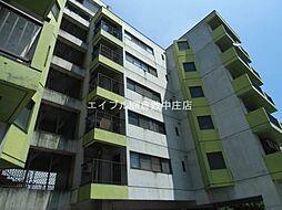 岡山県倉敷市中庄の賃貸マンションの外観