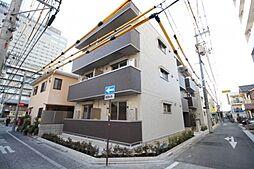 岡山県岡山市北区駅元町の賃貸アパートの外観