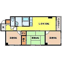 北海道札幌市北区北七条西1丁目の賃貸マンションの間取り