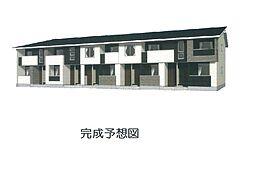 三島町アパート[2階]の外観