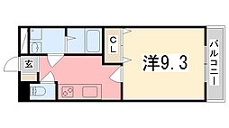 プロニティハウス[308号室]の間取り