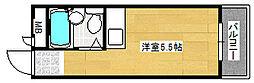 カルム加賀屋[3階]の間取り