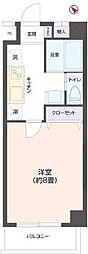 グランメゾン七福[3階]の間取り