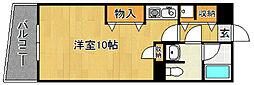 Kステーションプラザ八田[5階]の間取り