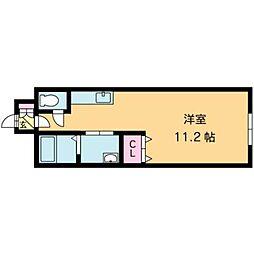 北海道札幌市北区南あいの里6丁目の賃貸マンションの間取り