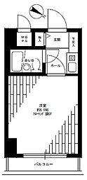 ライオンズマンション三鷹さくら通り[2階]の間取り
