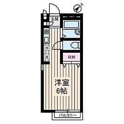 七番館[2階]の間取り