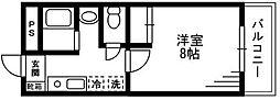 フォルテ湘南台[4階]の間取り