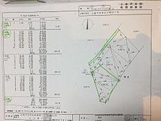 測量図(緑線部分です)