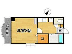 HAMAO吉村ビル[403号室]の間取り