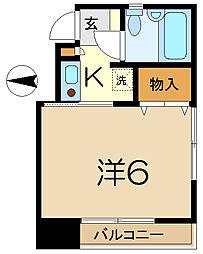 カインドハウス杉田[2階]の間取り
