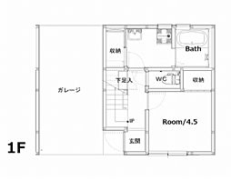 Ko olina yoshimura[B-2号室]の間取り