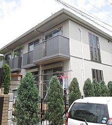 東京都杉並区浜田山2丁目の賃貸アパートの外観