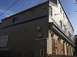 東京都小金井市本町2丁目の賃貸アパートの外観