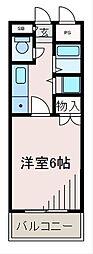 神奈川県相模原市南区相模台5丁目の賃貸マンションの間取り