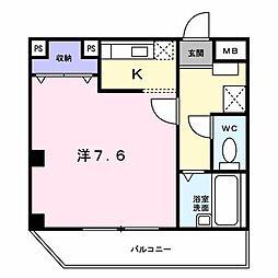 エクセレント宝塚東[0303号室]の間取り