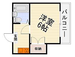エルム泉大津パートI[1階]の間取り