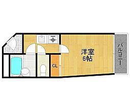 ドリームコート伊丹[4階]の間取り