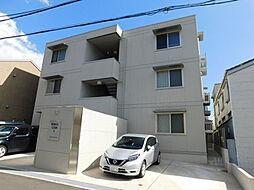 兵庫県神戸市灘区永手町1丁目の賃貸アパートの外観
