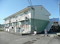 和歌山県岩出市岡田の賃貸アパートの外観