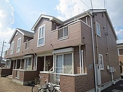 埼玉県春日部市梅田2丁目の賃貸アパートの外観