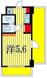 We Tsudanuma[5階]の間取り
